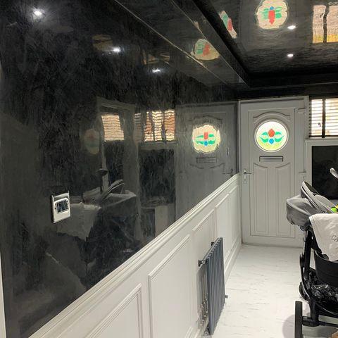 Venetian Plastering Glasgow - Polished Venetian plaster luxury home - KMac Plasterers