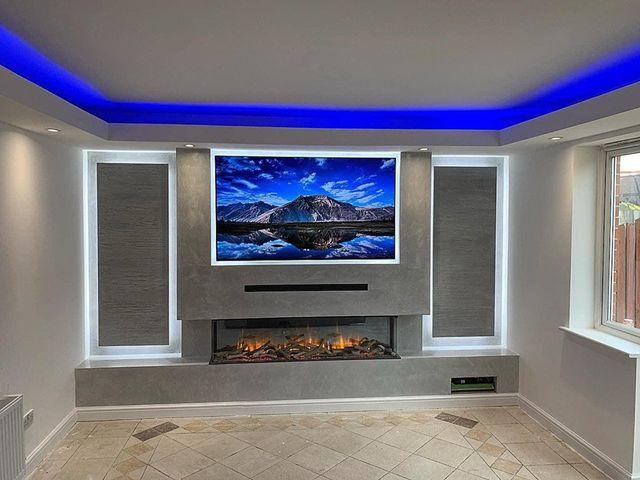 Venetian Plastering Glasgow - Venetian plaster luxury home - KMac Plasterers