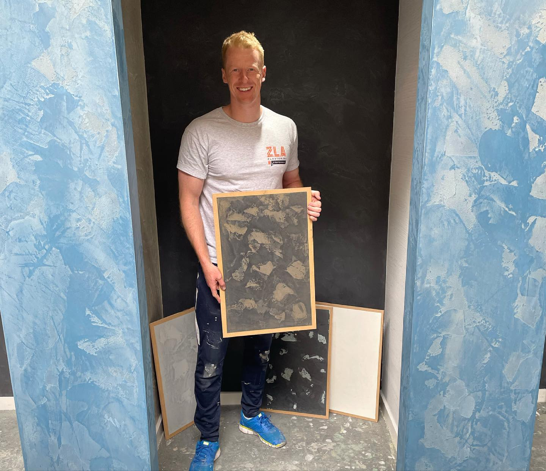 Venetian Plaster Training Course Completed - Glasgow Scotland - Kmac Plasterers