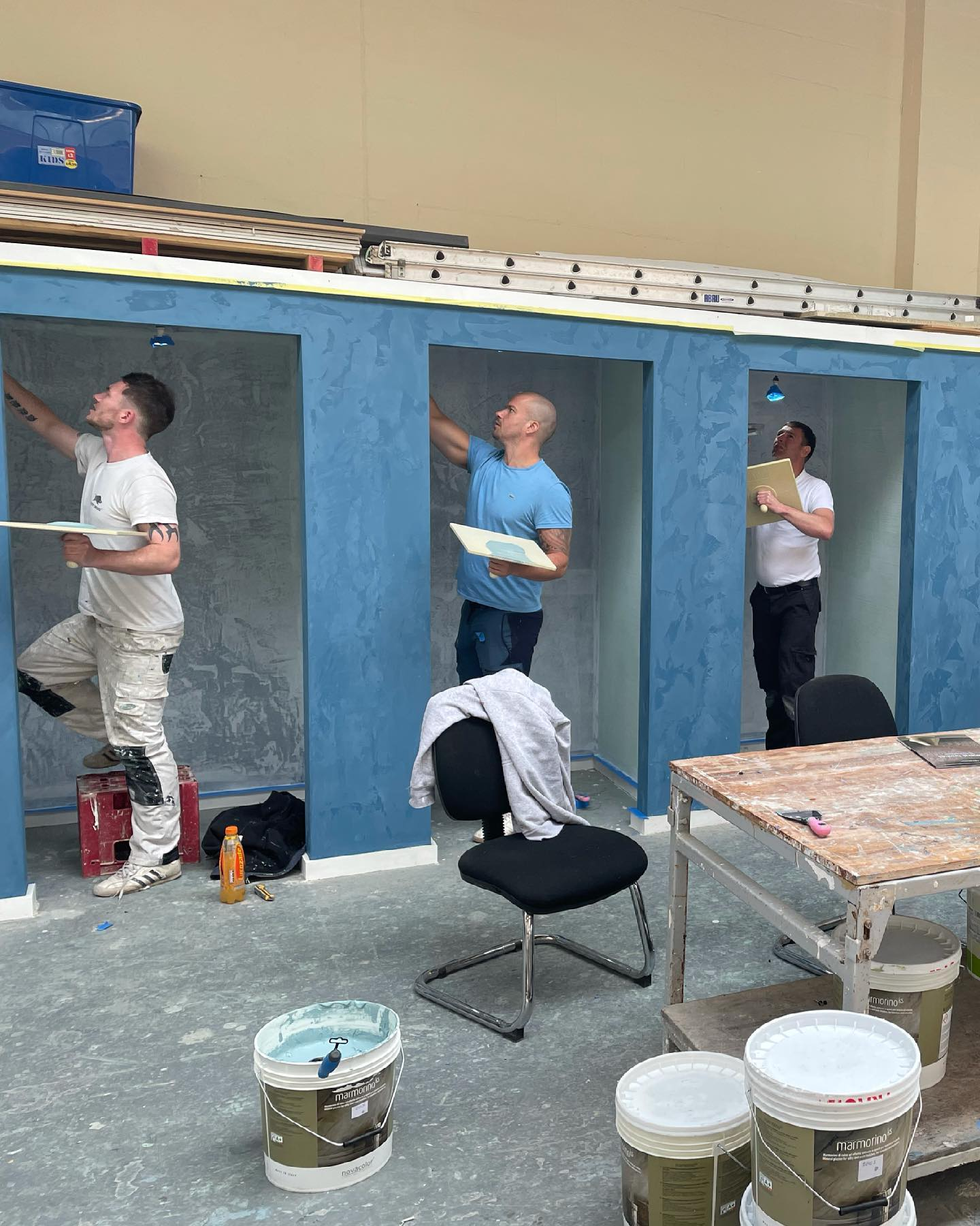 Venetian Plaster Training Courses - Glasgow Scotland - Kmac Plasterers